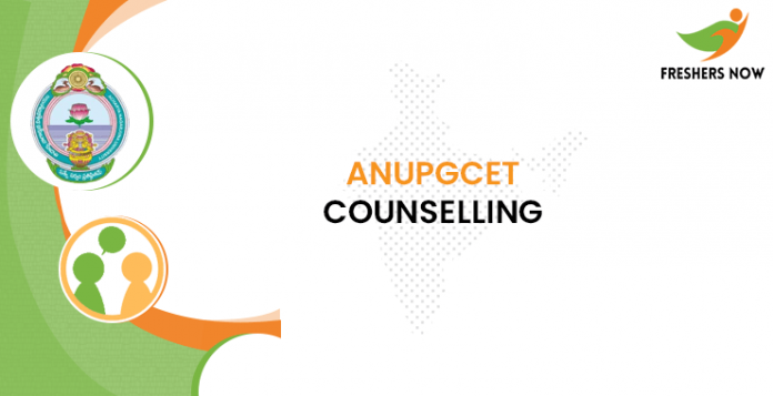 ANUPGCET Counselling