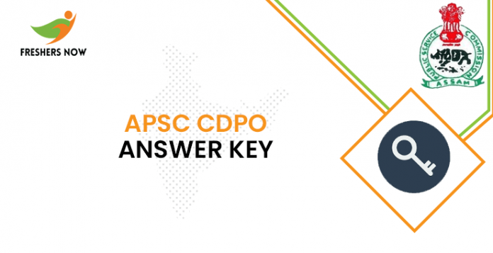 APSC CDPO Answer Key
