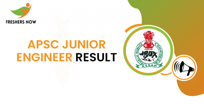 APSC Junior Engineer Result