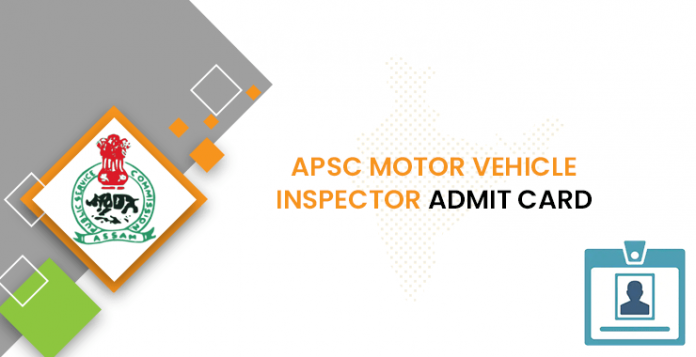 APSC Motor Vehicle Inspector Admit Card