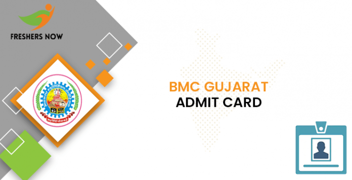 BMC Gujarat Female Health Worker Admit Card