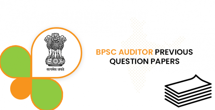 BPSC Auditor Previous Question Documents