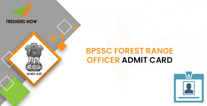 BPSSC Forest Range Officer Admit Card