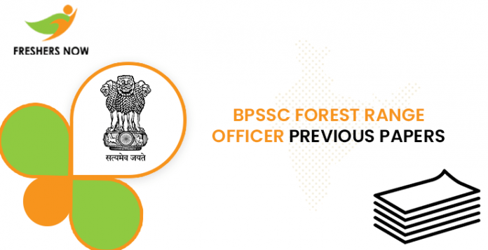 BPSSC Forest Range Officer Previous Question Papers