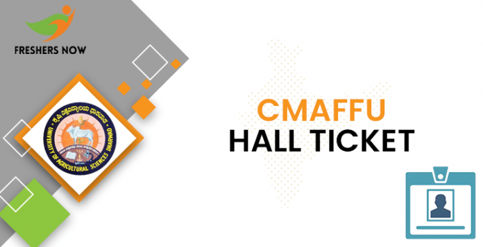 CMAFFU Hall Ticket