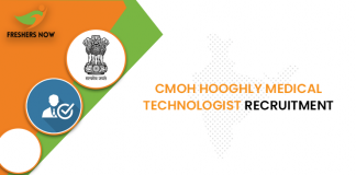 CMOH Hooghly Medical Technologist Recruitment