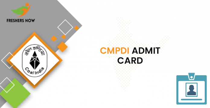 CMPDI Junior Scientific Assistant Admit Card