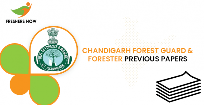 Chandigarh Forest Guard Previous Question Papers
