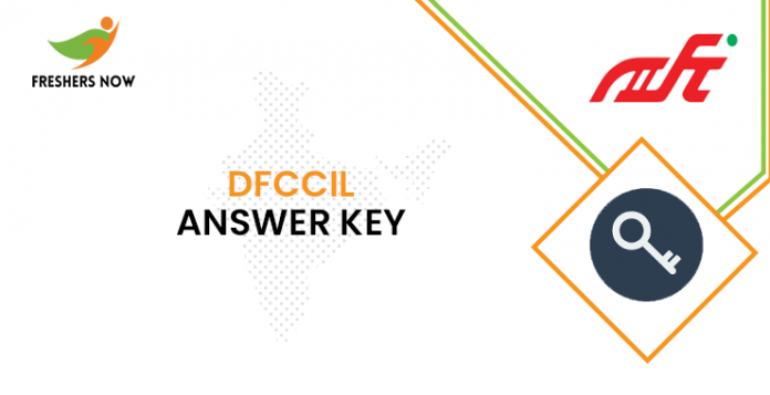 DFCCIL Assistant Manager Answer Key