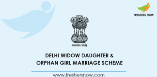 Delhi Widow Daughter Marriage Scheme