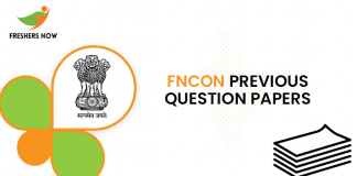 FNCON Previous Question Papers