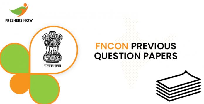 FNCON Previous Question Documents
