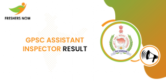 GPSC Assistant Inspector Result