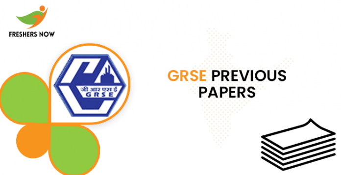 GRSE Previous Papers