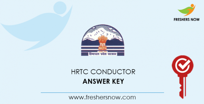 HRTC Conductor Answer Key