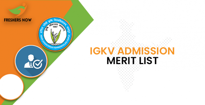 IGKV Admission Merit List