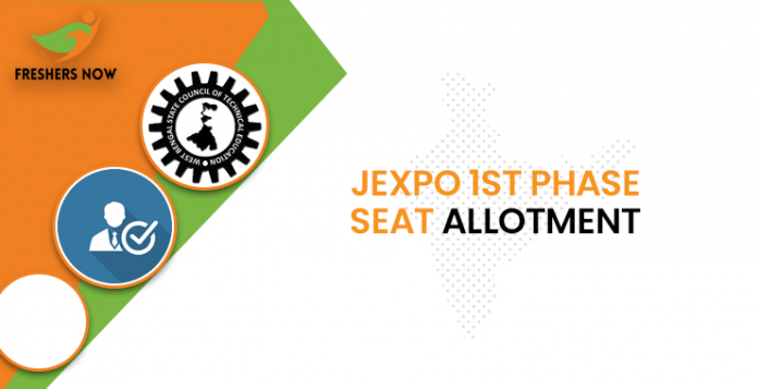 JEXPO 1st Phase Seat Allotment