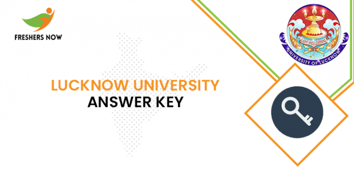 Lucknow University Answer Key