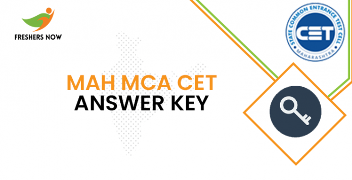 MAH MCA CET Answer Key