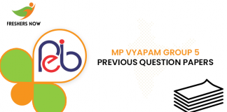 MP Vyapam Group 5 Previous Question Papers