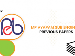MP Vyapam Sub Engineer Previous Question Papers