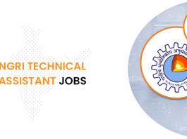 NGRI Technical Assistant Jobs