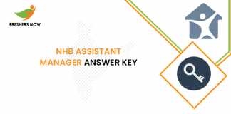 NHB Assistant Manager Answer Key