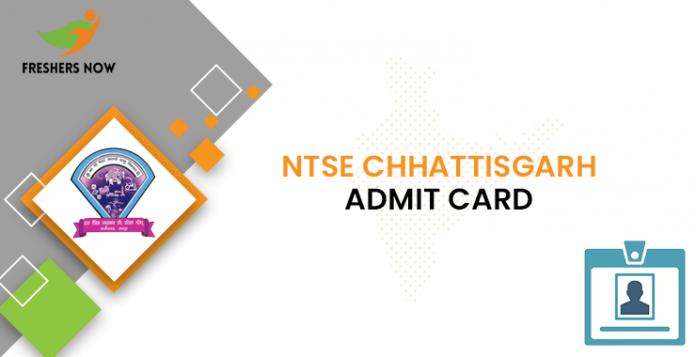 NTSE Chhattisgarh Admit Card