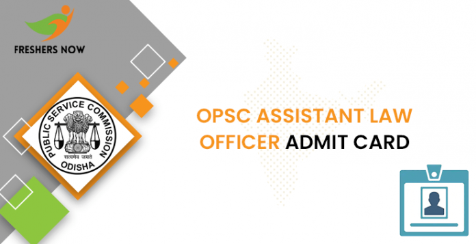 OPSC Assistant Law Officer Admit Card