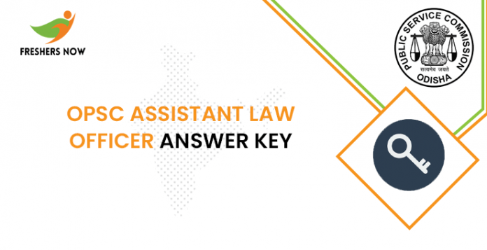 OPSC Assistant Law Officer Answer Key