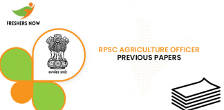 RPSC Agriculture Officer Previous Question Papers