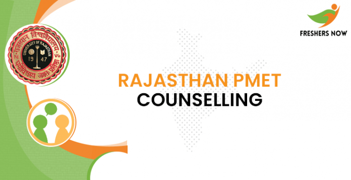 Rajasthan PMET Counselling