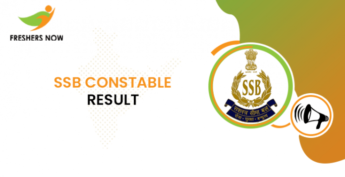 SSB Constable Result