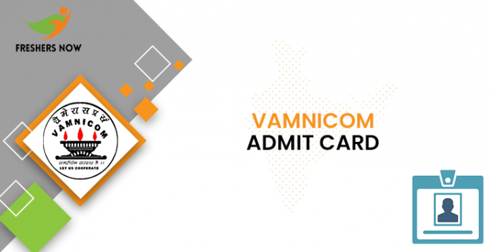 VAMNICOM Admit Card