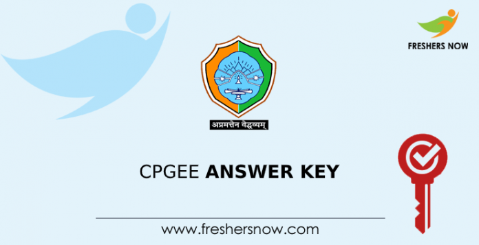 CPGEE Answer Key