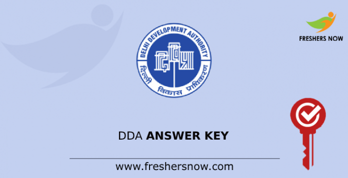 DDA Junior Secretariat Assistant Answer Key