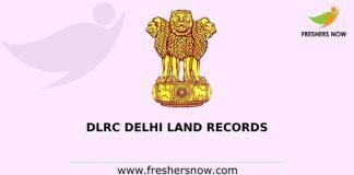 DLRC Delhi Land Records