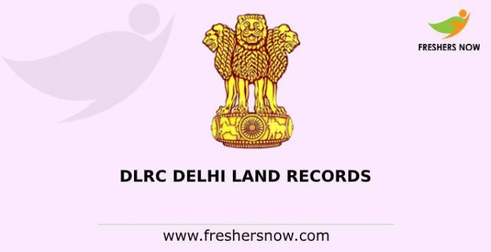 DLRC Delhi Land Records