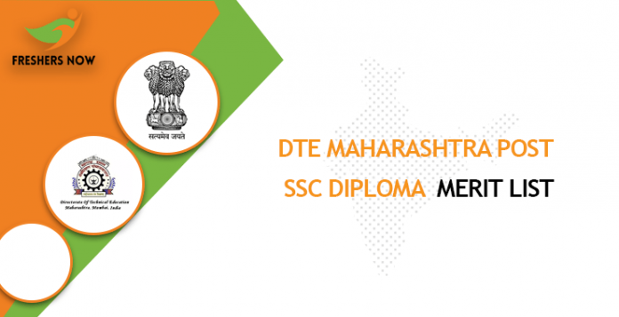 DTE Maharashtra Post SSC Diploma Merit List