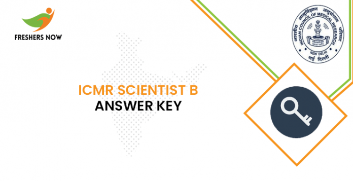 ICMR Scientist B Answer Key