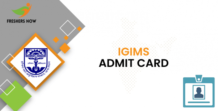IGIMS Admit Card