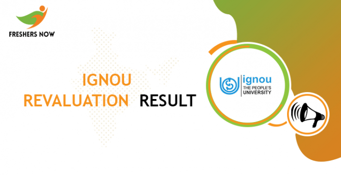 IGNOU Revaluation Result