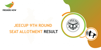 JEECUP 9th Round Seat Allotment Result