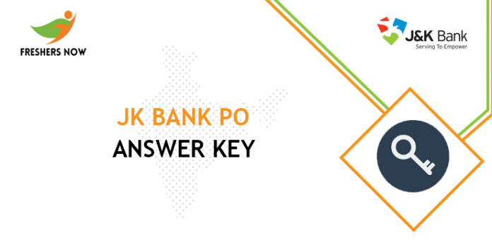 JK Bank Purchase Order Response Key
