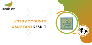 JKSSB Accounts Assistant Result