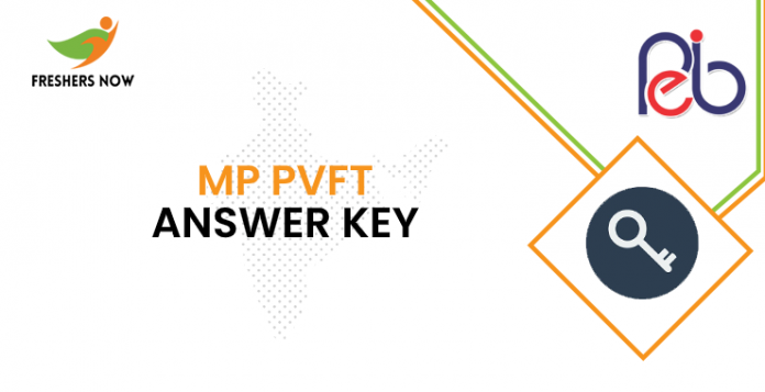 MP PVFT Answer Key