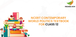 NCERT Contemporary World Politics Textbook for class 12