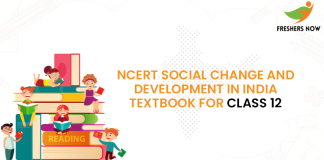NCERT Social Change and Development in India Textbook for class 12
