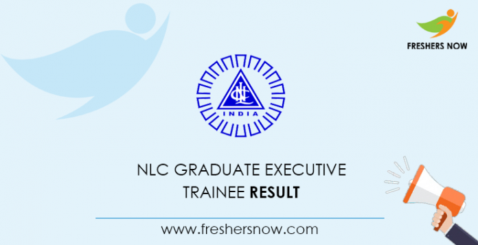 NLC Graduate Executive Trainee Result