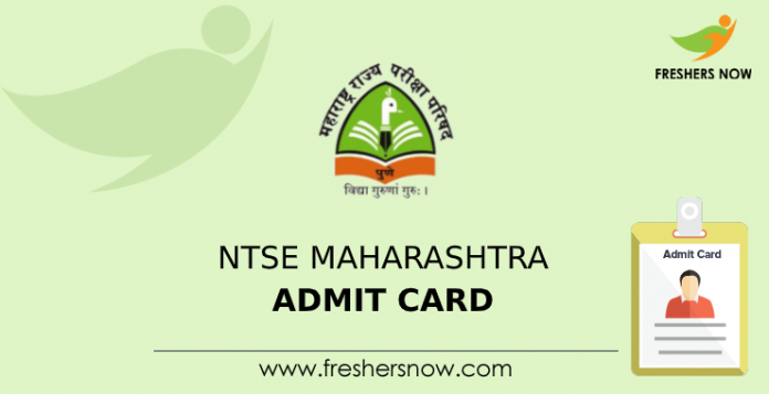 NTSE Maharashtra Admit Card